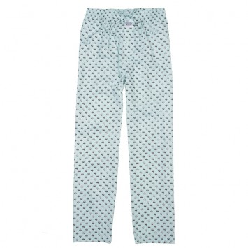 Lounge Pants - Mint Green Cotton Boll